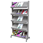 Metal Literature Racks