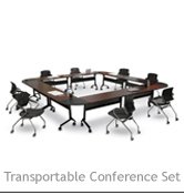 Transportable Conference Set