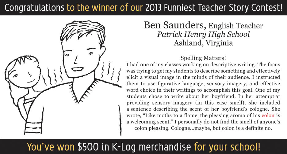 Funny Teacher Story Contest Winner