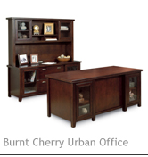Burnt Cherry Urban Office Office Series
