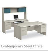 Contemporary Steel Office