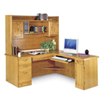 Waterfall Oak Office Series