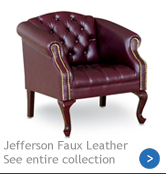 Jefferson Faux-Leather Seating