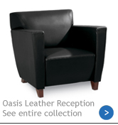 Oasis Leather Reception Group
